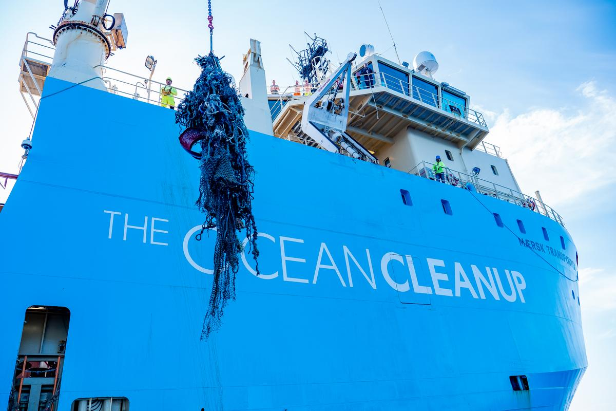 The Ocean Cleanup says the profits from its recycled plastic products will be used to fund its ongoing cleanup operations