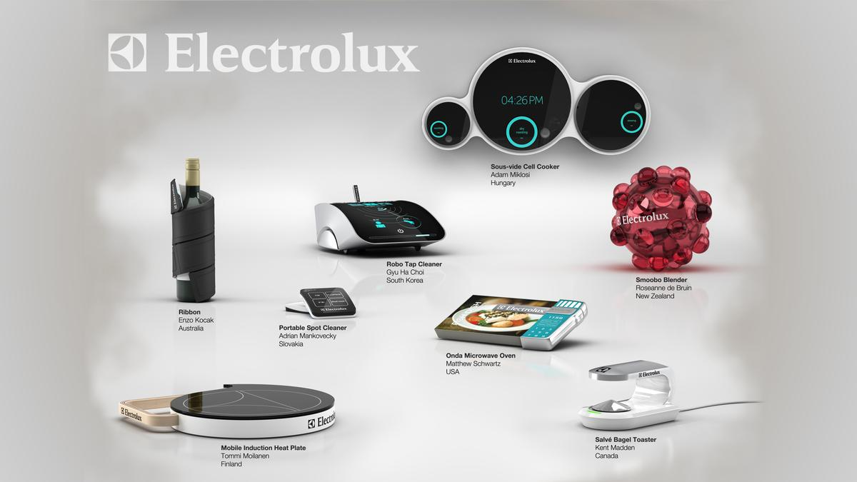 Electrolux has announced the start of voting for the People's Choice Award in this year's Design Lab competition