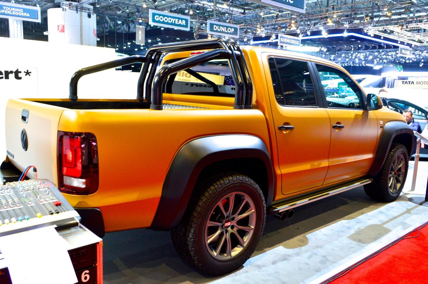Volkswagen Amarok V8 Passion Desert from Germany's Motoren Technik Mayer (MTM)