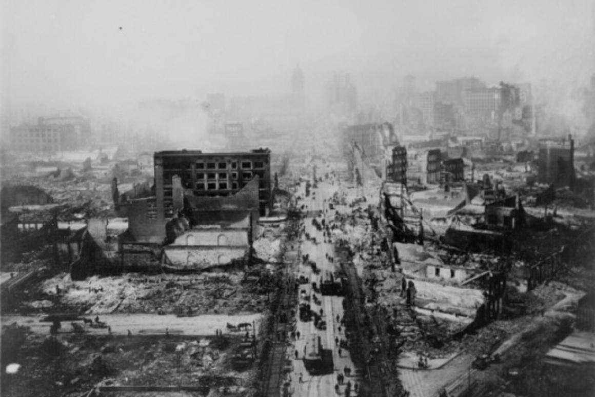 The 1906 San Fransisco earthquake killed over 3,000. A new technology could help shield buildings from seismic damage.
