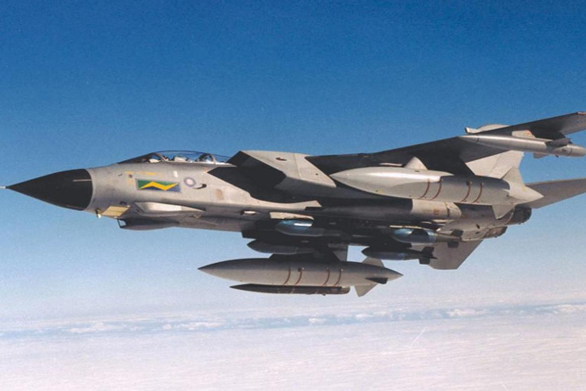 Tornado aircraft have flown with 3D-printed functional components on board for the first time (Photo: BAE Systems)