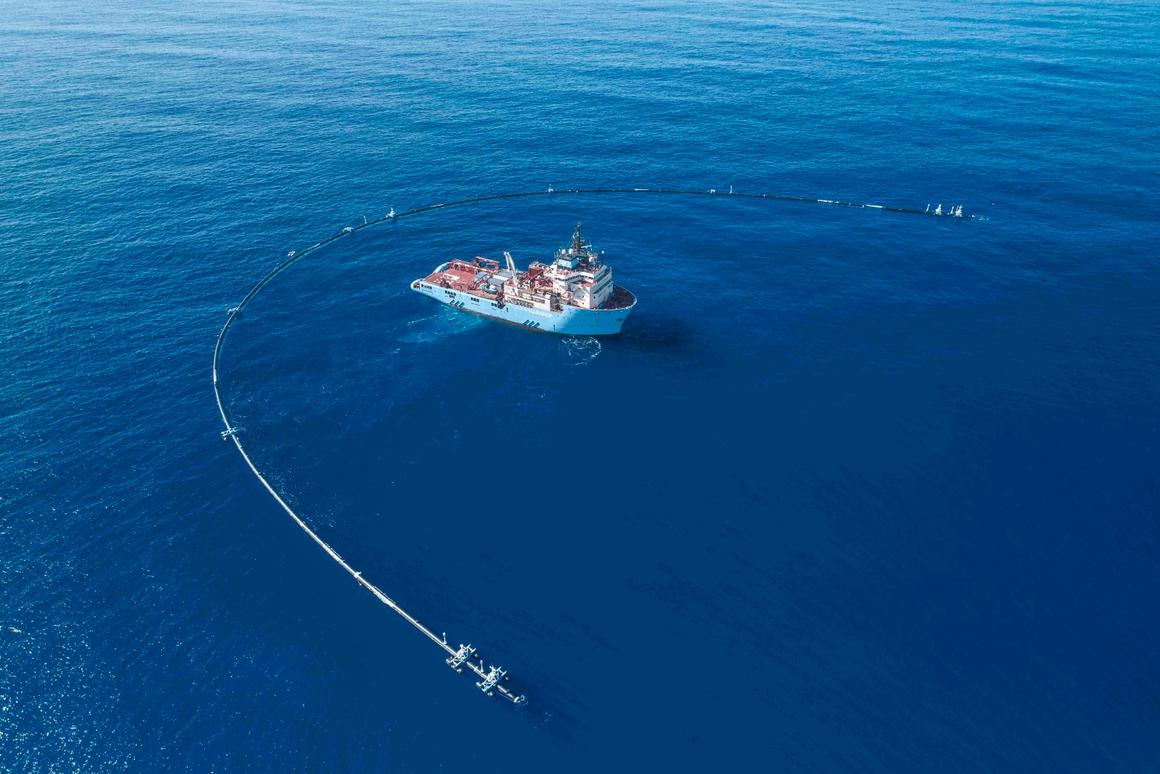 The Ocean Cleanup Project has encountered a few teething problems