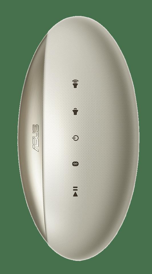 The Asus audio pod backs up the regular Harmon/Kardon speakers