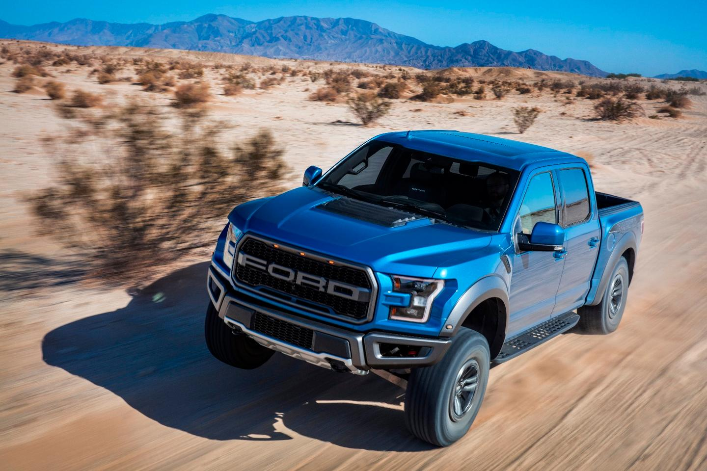 With its 3.5-liter twin turbo V6, the 450-horsepower F-150 Raptor packs plenty of punch, but the way Ford sees it there's more to off-road muscle than sheer engine power