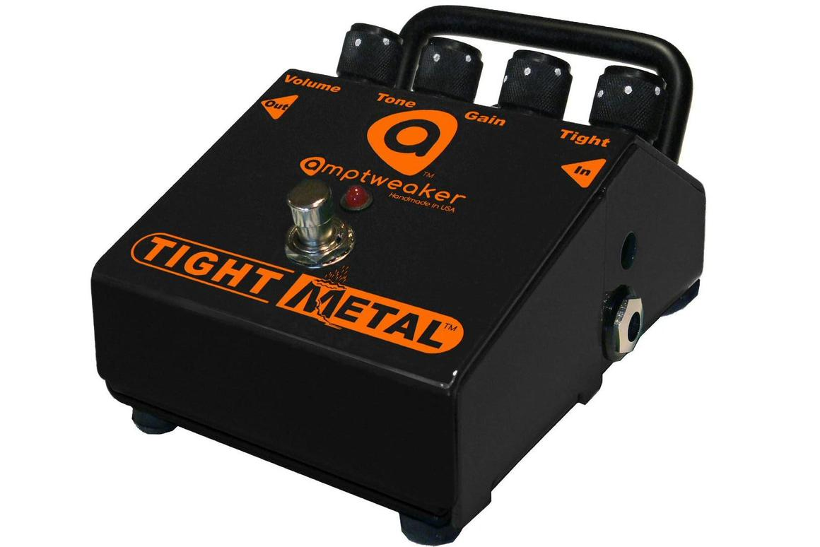 Amptweaker has announced a new effects pedal geared towards dark and dirty metal speedsters