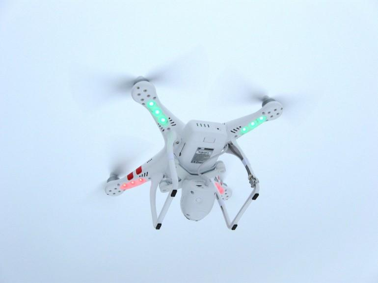 The US FAA has granted exemptions for video-equipped drones to be used in film production