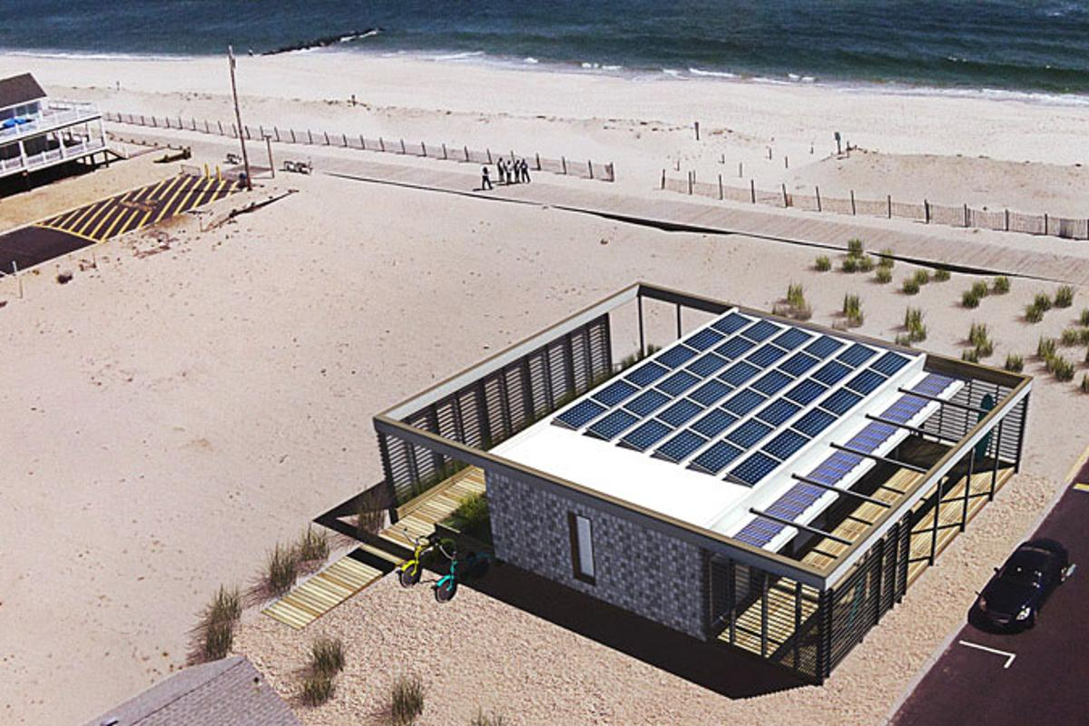 2015 Solar Decathlon 1st Place - Stevens Institute of Technology. SURE House is completely solar powered, with excess power to be shared in emergency situations