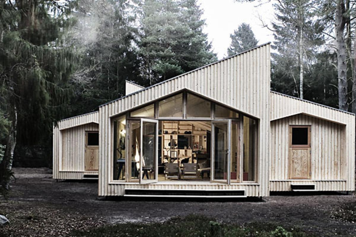 Facit Homes claims to be the first company in the world to digitally fabricate a bespoke home on-site