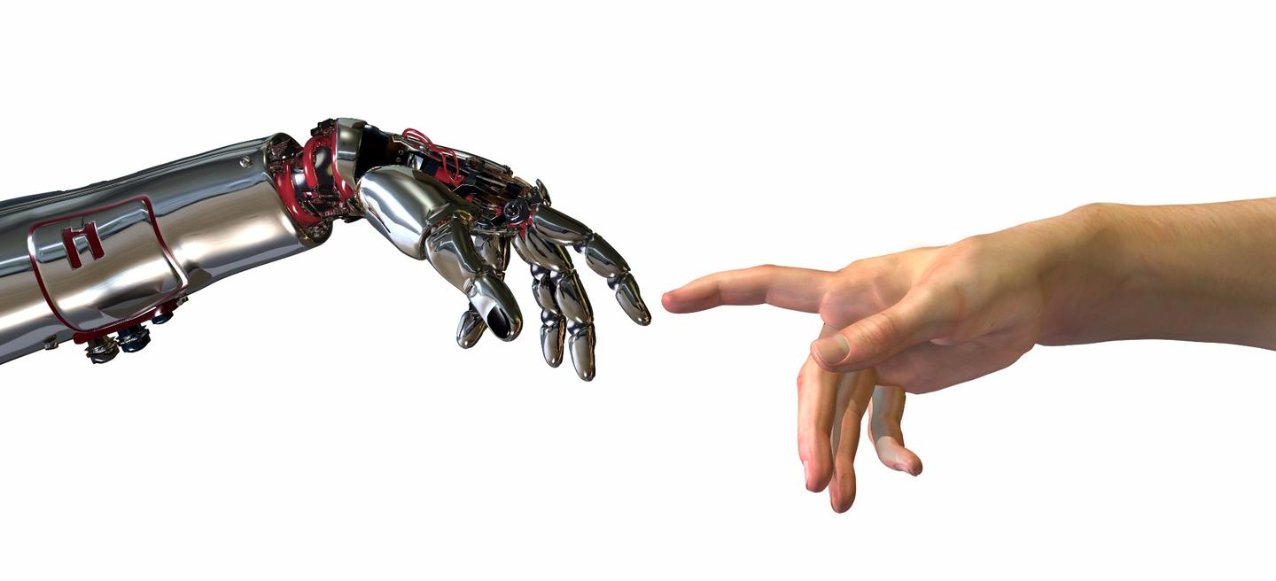 How does humanity deal with the risks posed by the development of artificial intelligence?