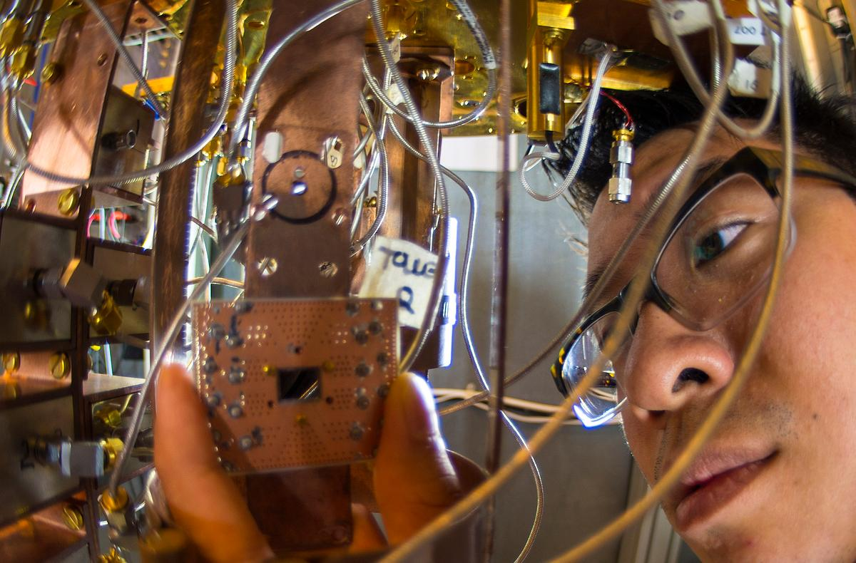 The first working quantum computer could be now much closer to reality thanks to two crucial advances from researchers at IBM (Photo: IBM)