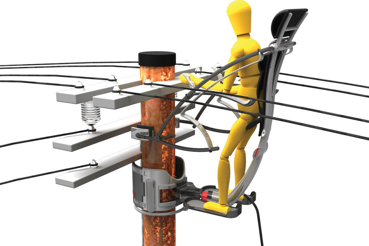 The Crawl is designed for power line maintenance