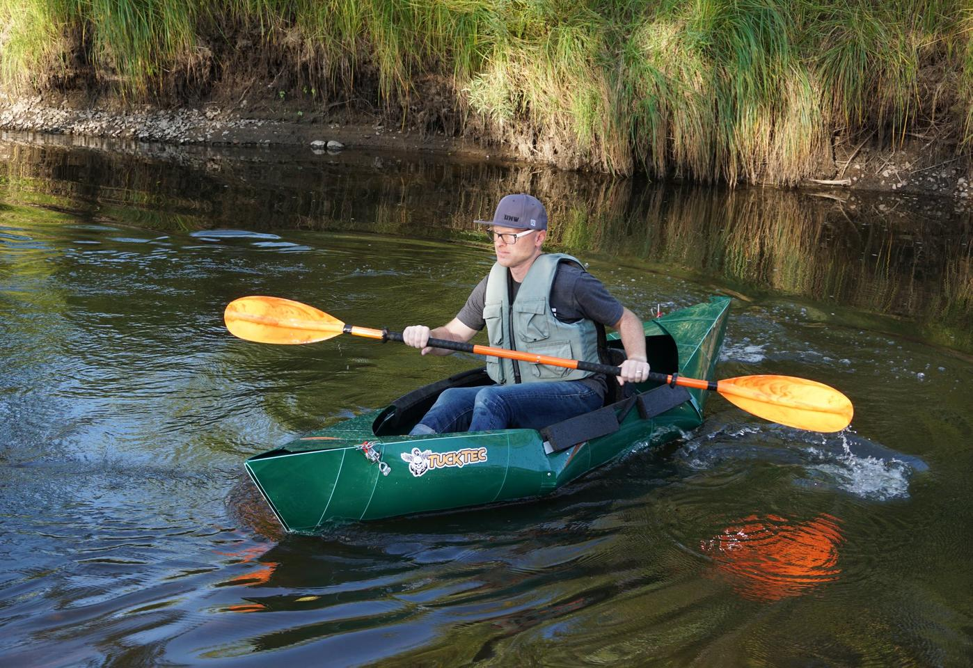 The Tucktec kayak is currently on Kickstarter