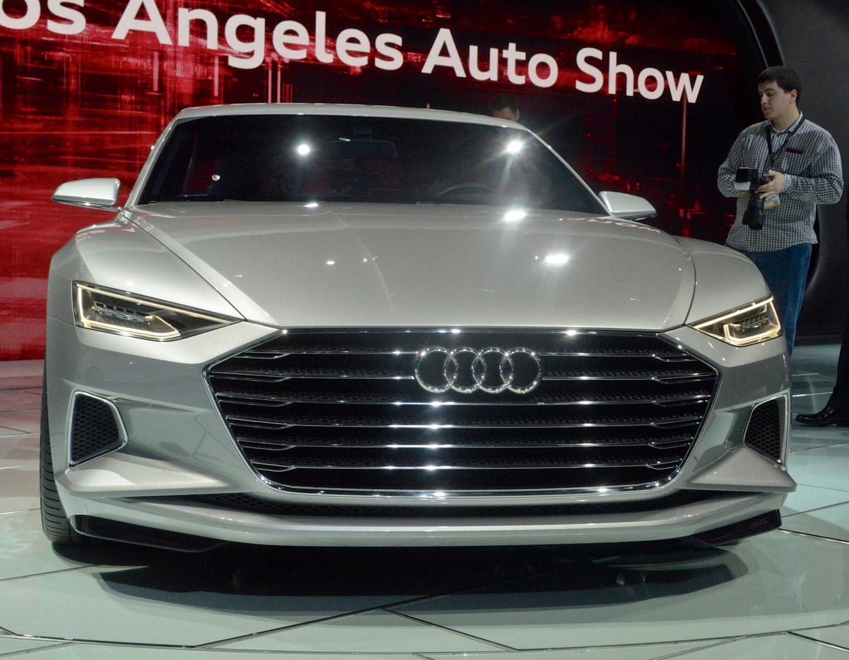 Audi reveals the Prologue concept at the 2014 LA Auto Show (Photo: C.C. Weiss/Gizmag)