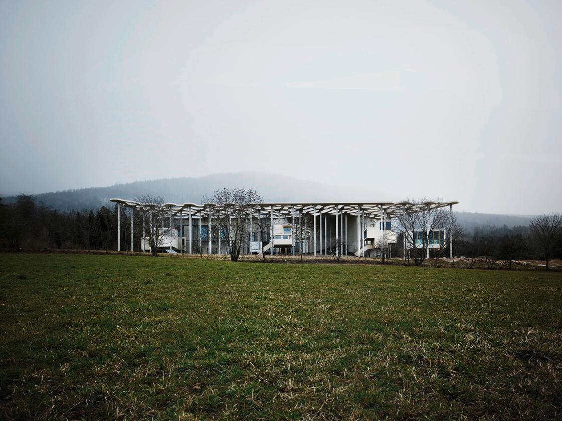 """The """"In Praise of Shadows"""" writer'sresidence ispart of the Jan Michalski Foundation in the village of Montricher"""