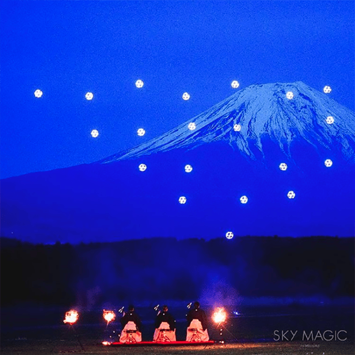 Japan's Mt Fuji is an eye-catching enough sight on its own