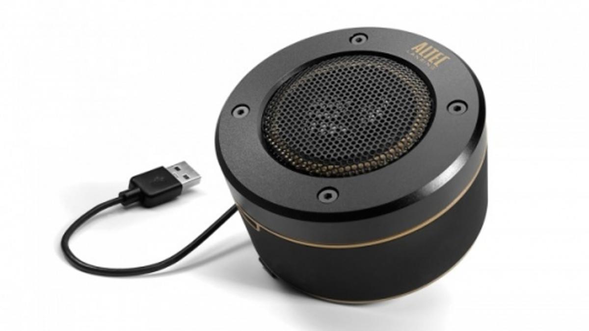 Altec Lansing's Orbit USB ultra-portable speaker