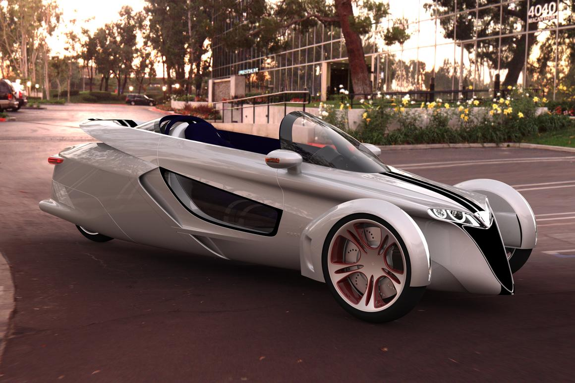 The TerraCraft tilting 3-wheel concept
