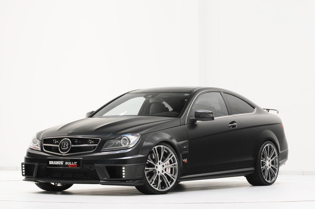 The BRABUS BULLIT Stealth Coupe 800