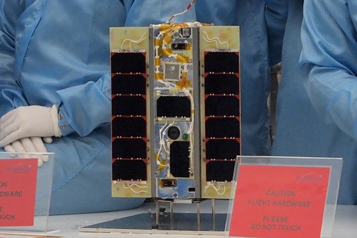 The STRaND-1 is a smartphone-based nanosat that is set to become the U.K.'s first CubeSat in space