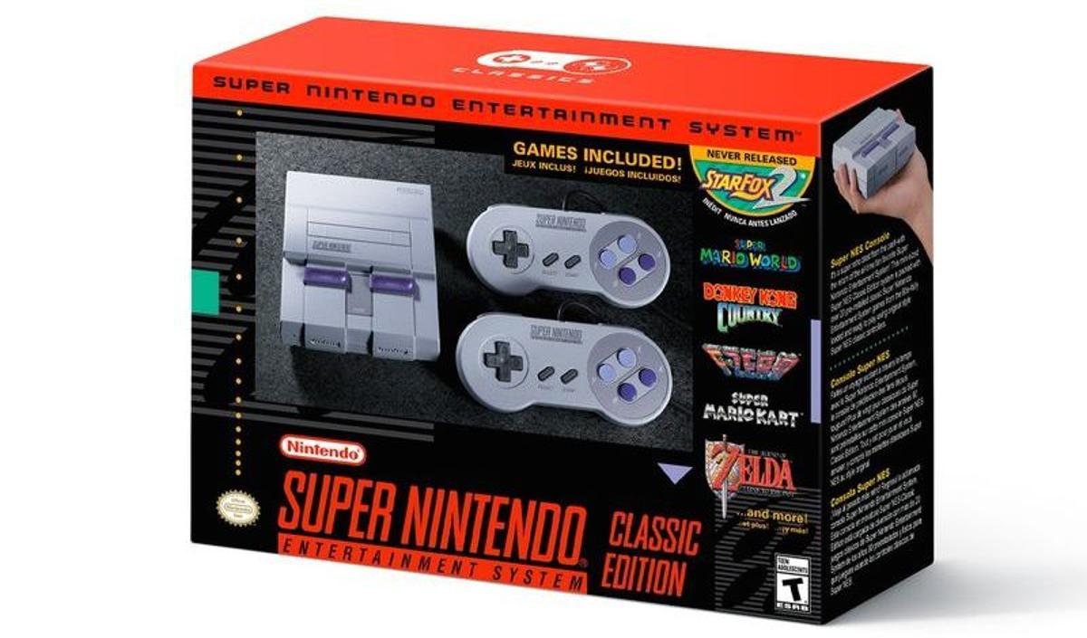 Nintendo has announced the Super NESClassic Edition, a rerelease of the popular16-bit console from the early 1990s