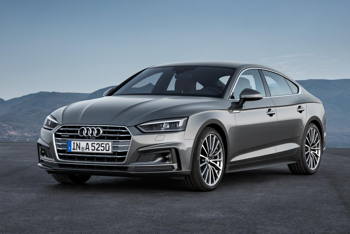 The new A5 Sportback comes in diesel, petrol and gas variants