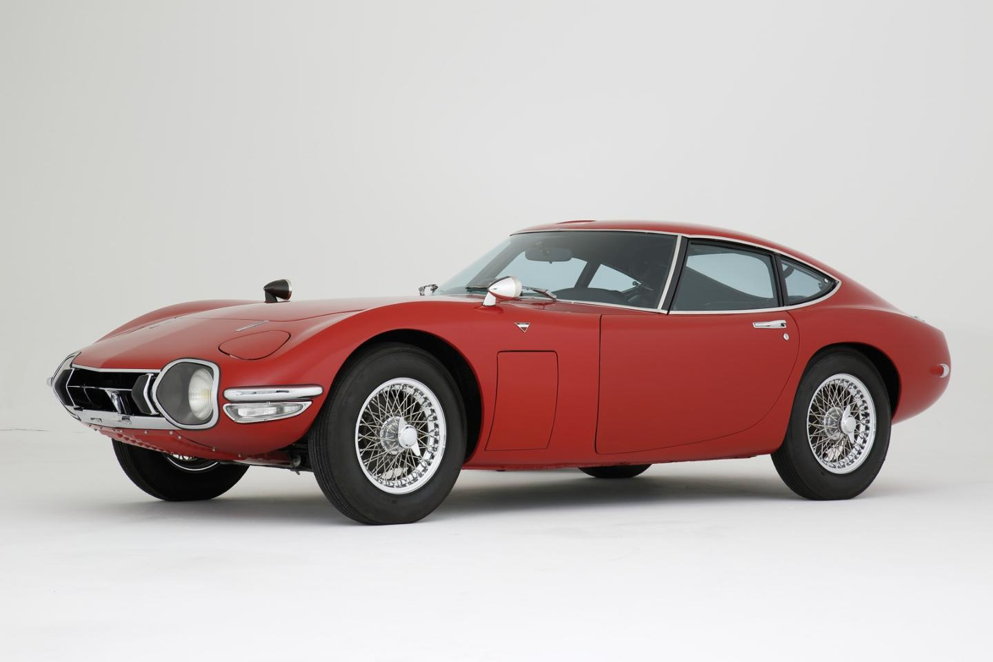 RM-Sothebys  sold this 1968 Toyota 2000GT for $1,001,844 (€728.000) at its  Monaco, 2014 auction