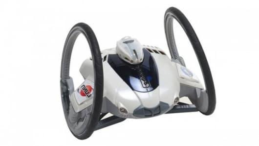 The Roboni-i two-wheeled robot