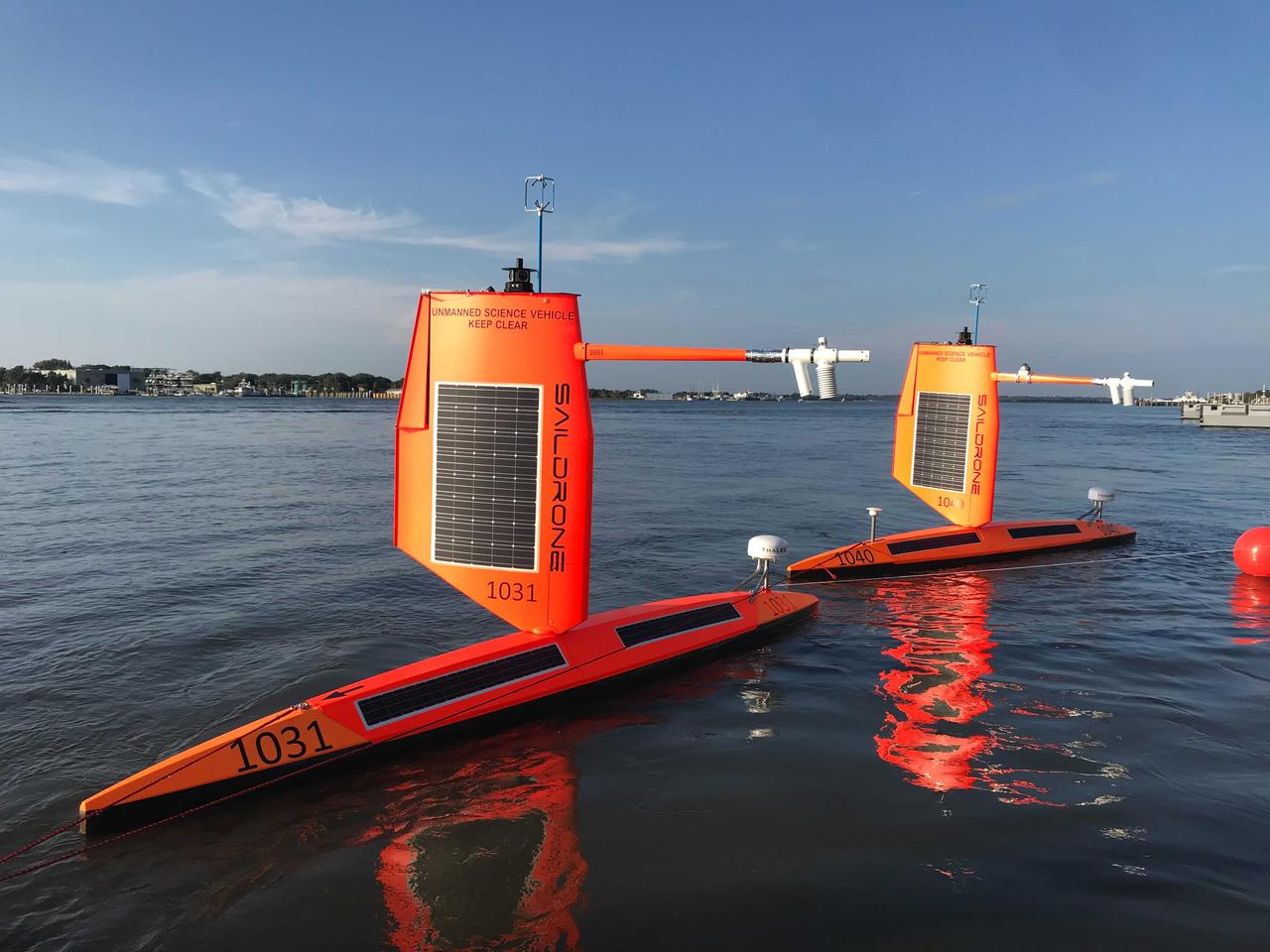 A small fleet of Saildrone Explorers was deployed from Jacksonville a few months ago to monitor the 2021 Atlantic Ocean hurricane season, and one of them has now captured video footage from inside the eye of a Category 4 hurricane