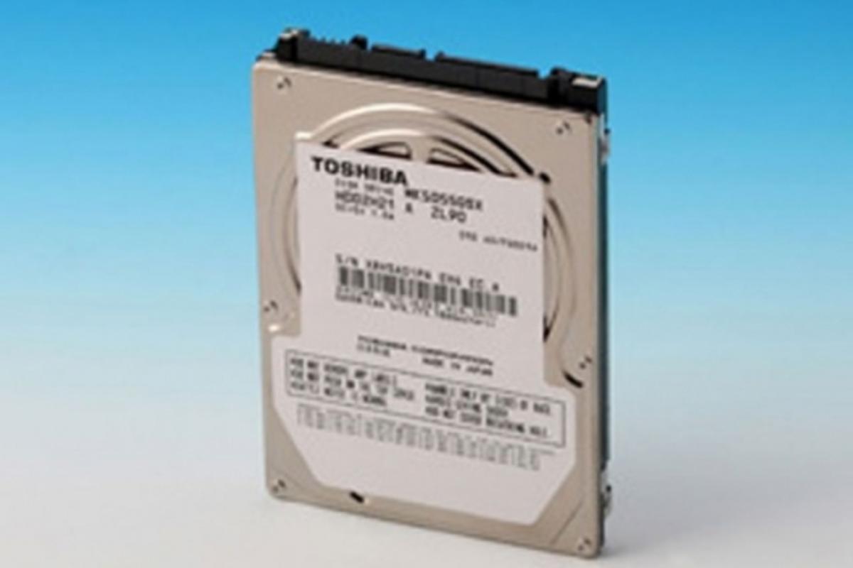 Toshiba's new 500GB 2.5-inch HDD