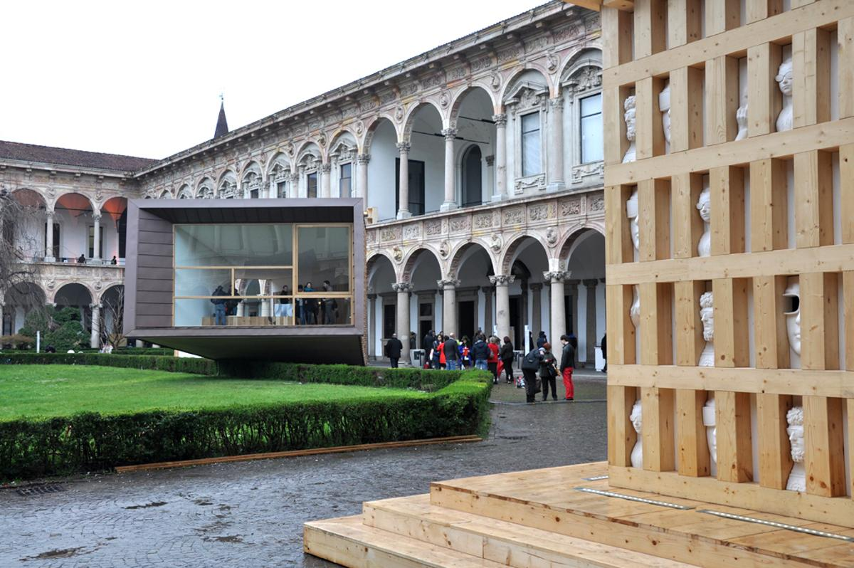 Wrapping up our coverage on the Milan Design Week 2013, we've taken a look at some of the innovative ideas featured in the FuoriSalone program (Photo: Edoardo Campanale/Gizmag)