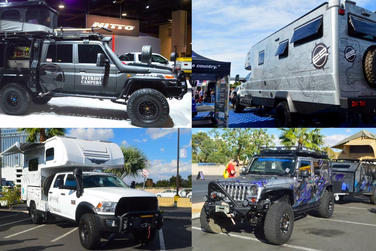 RVs, expedition trucks and other adventure rigs of SEMA 2017