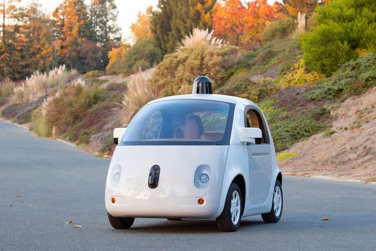 Google has unveiled the first complete prototype of its self-driving car
