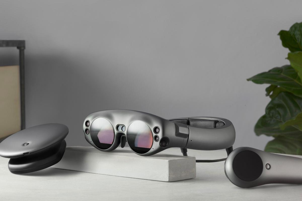 The Magic Leap One, with Lightpack and controller