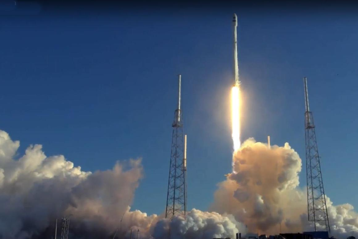The TESS mission lifting off