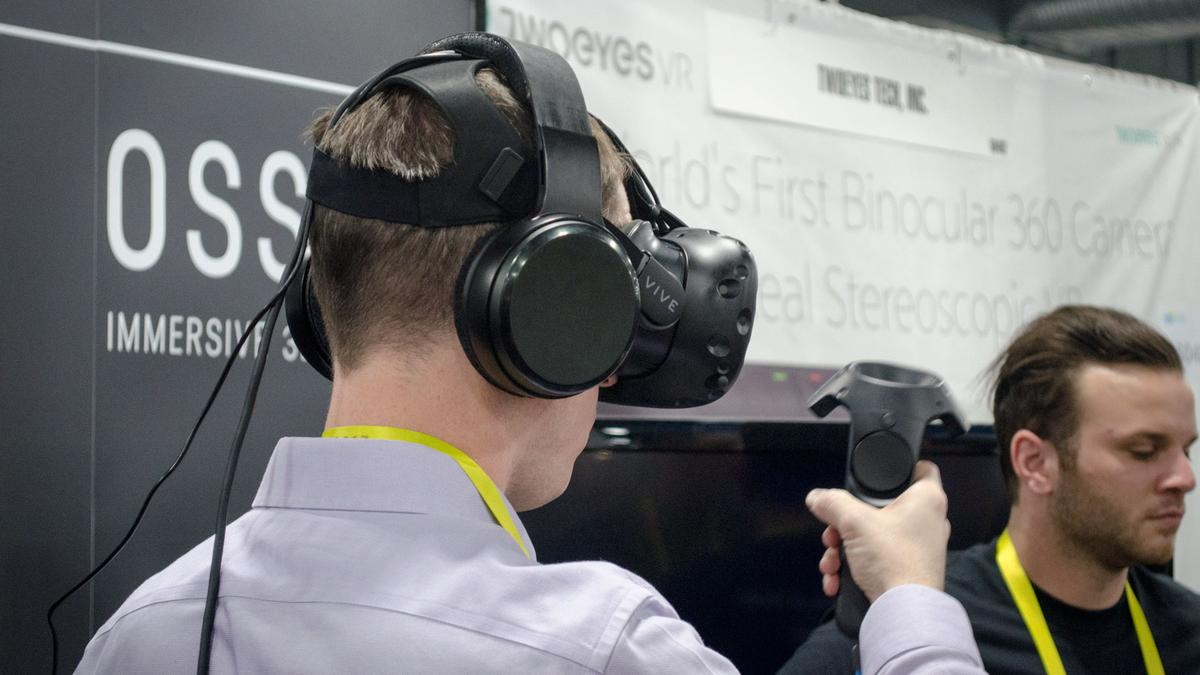 New Atlas tries out the VR audio experiencewith OSSIC X3Dheadphones