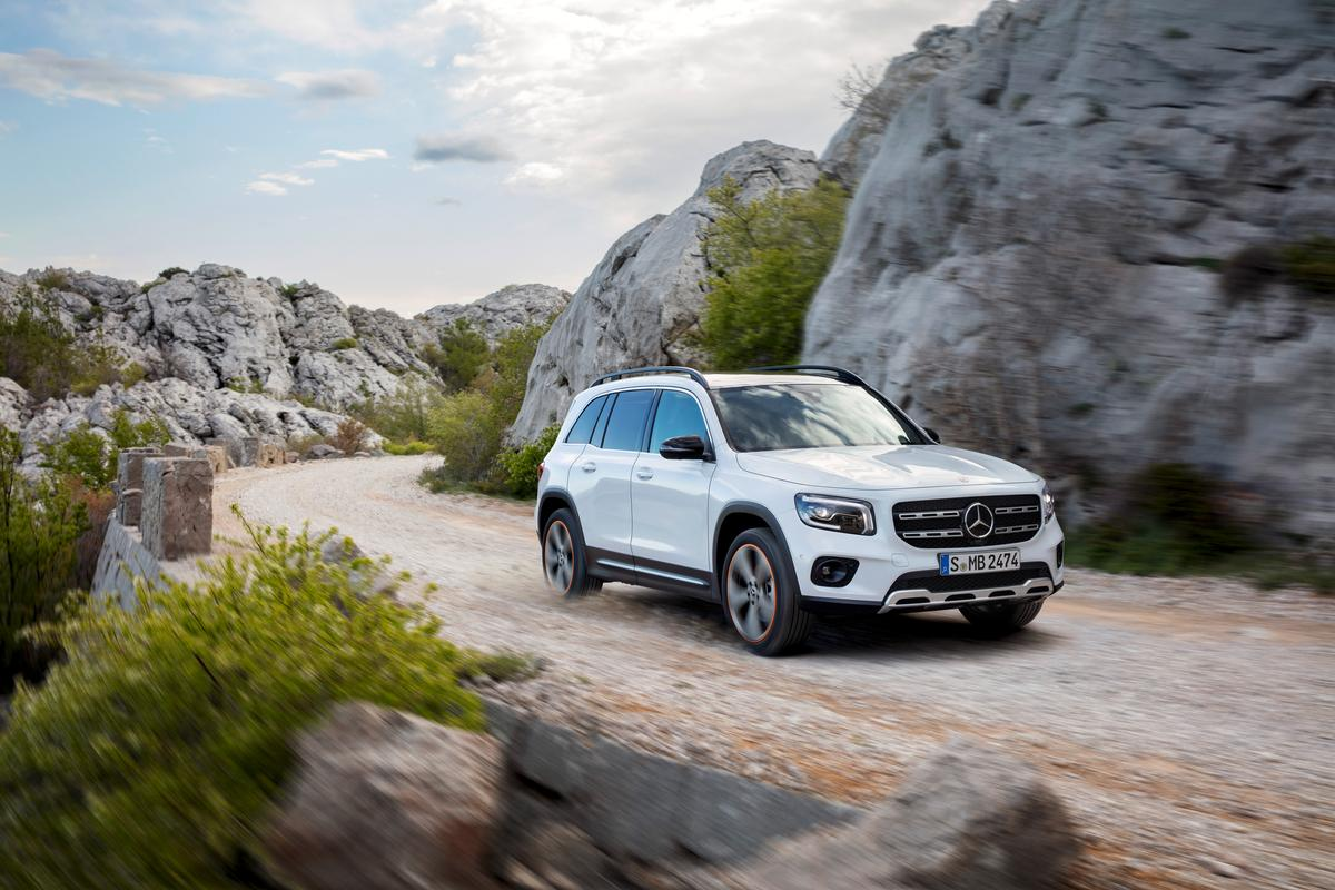 An all-new model for 2020, the Mercedes-Benz GLB was announced last year