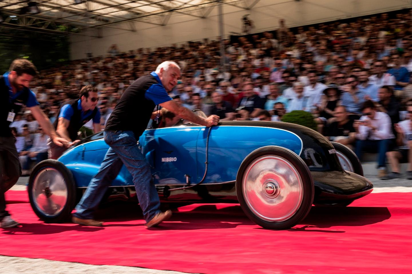 "The car voted ""Best of Show"" by the public on Saturday at Villa d'Este has a remarkable history. The car was designed and constructed in 1935 by Italian journalist, publisher, designer and racer Giovanni Lurani Cernuschi, VIIIth Count of Calvenzano (1905 – 1995) who went on to break numerous records driving the car. Though it is now 82 years-of-age, the car remains in the same family and was presented at Villa d'Este by the grandson of Cernuschi, Federico Göttsche Bebert, pictured in the car."