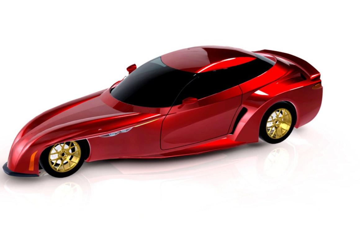 The DeltaWing concept is designed to be a road-going, multi-passenger version of the company's unconventional track racer