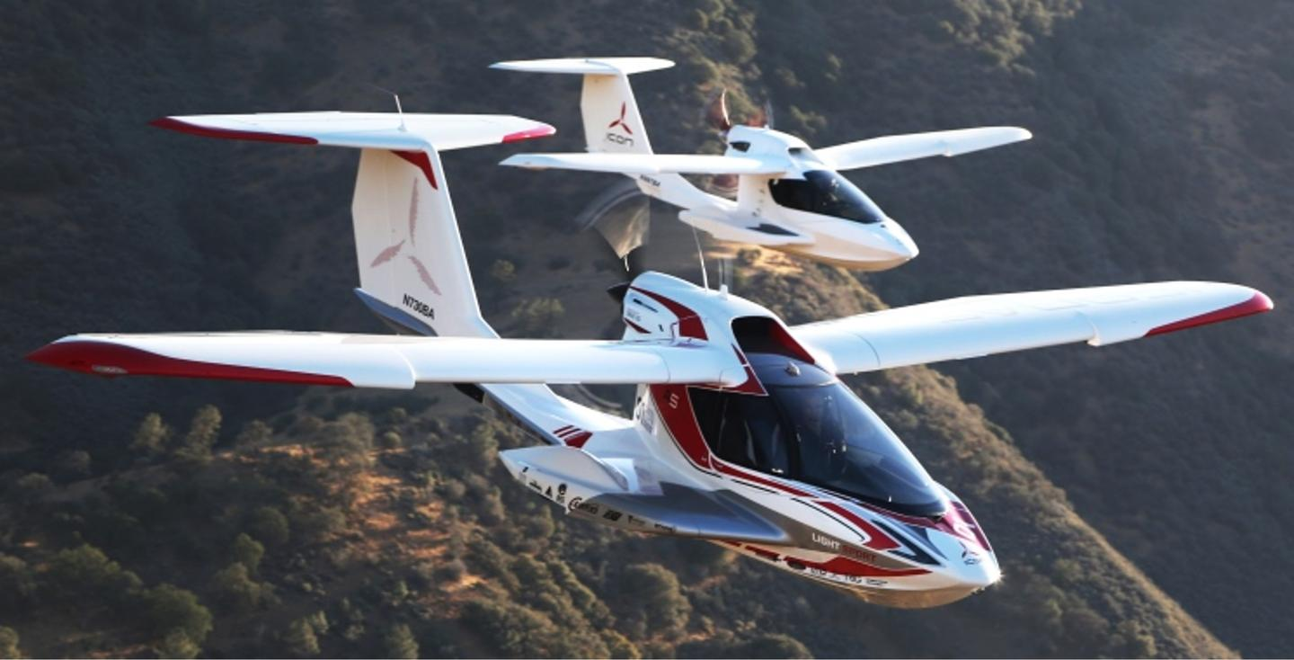 The ICON A5 is aimed at the beginner pilot