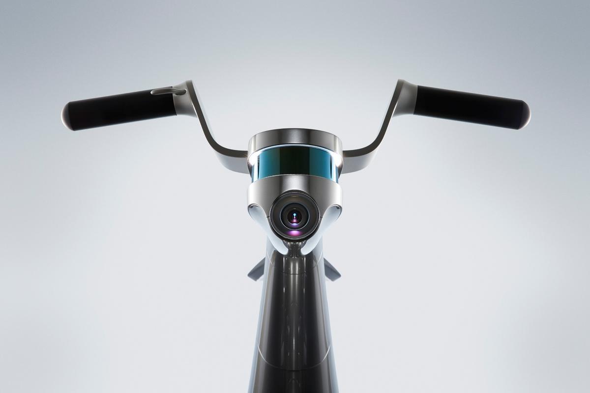 TheCanguRo uses LiDAR, awide angle camera and distance sensor to help it navigate autonomously