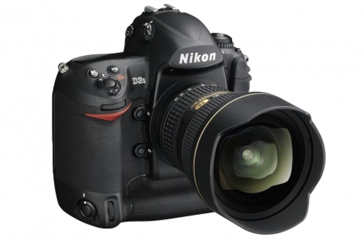 Nikon's new D3S12.1Mp professional D-SLR