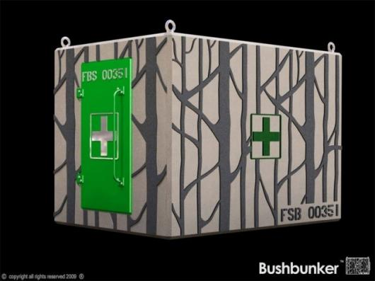 The Bushbunker is a purpose-built fire shelter designed to maximize the likelihood of survival regardless of the intensity or type of fire