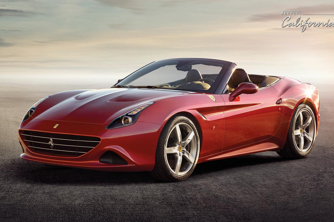 The Ferrari California T is Ferrari's first turbo since the F40 hypercar