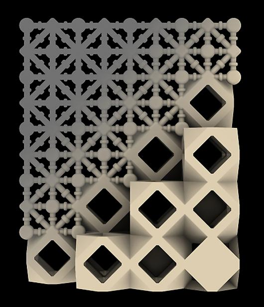 The 3D-printed sand Microclimates extend the latticework design of Mashrabiyas