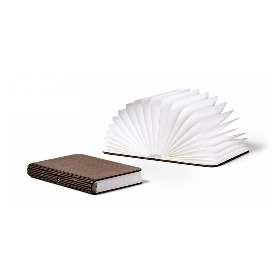 Quite simply, Lumio is a cordless LED light disguised as a hardback book
