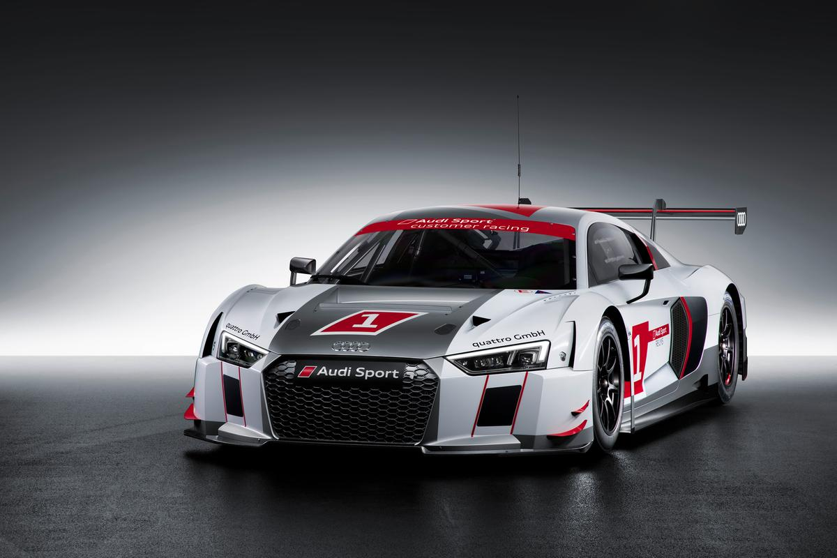 The R8 LMS has been safety engineered to the standards of Le Mans prototypes