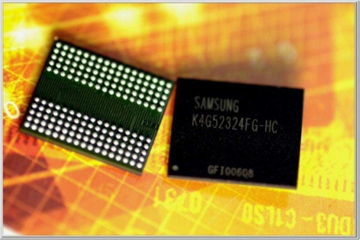 Samsung 6Gbps GDDR5