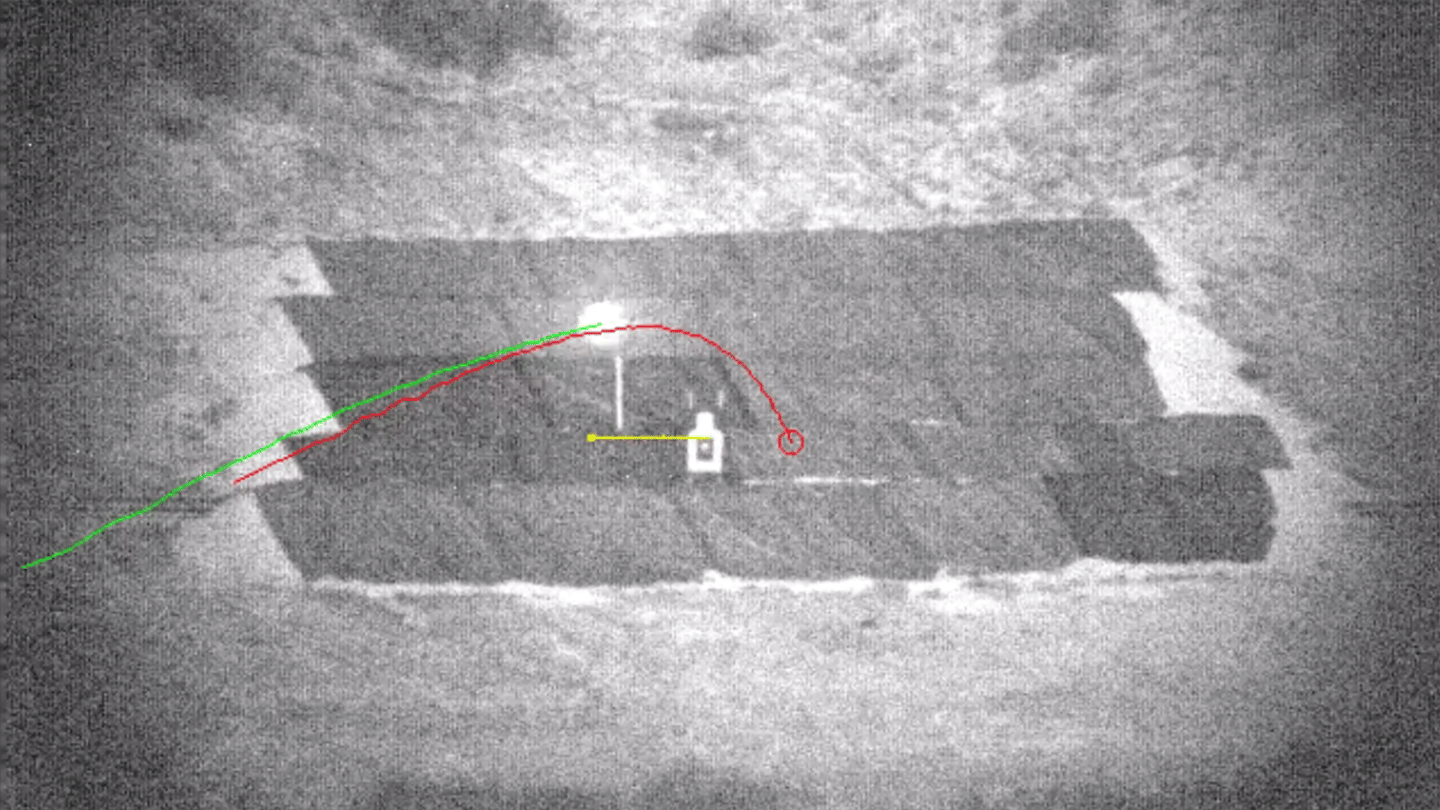 The new footage shows both expert and novice shooters hitting moving targets (Image: DARPA)