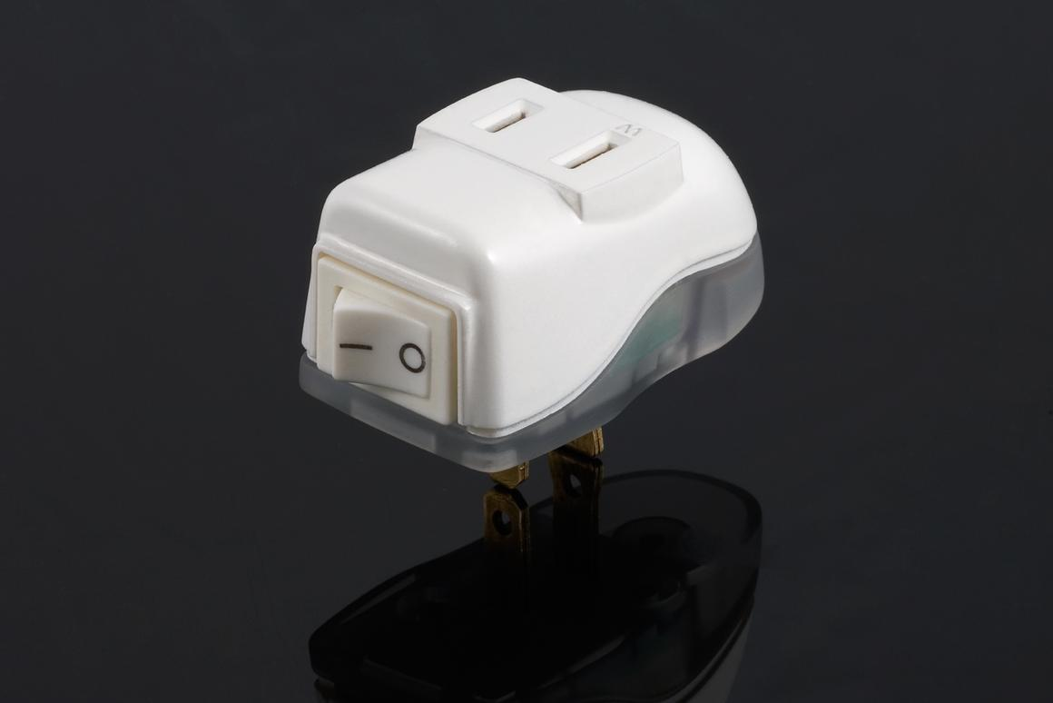 The OnPlug is essentially a single-outlet power bar, that keeps household electric devices from drawing phantom power (Photo: OnPlug Innovations)