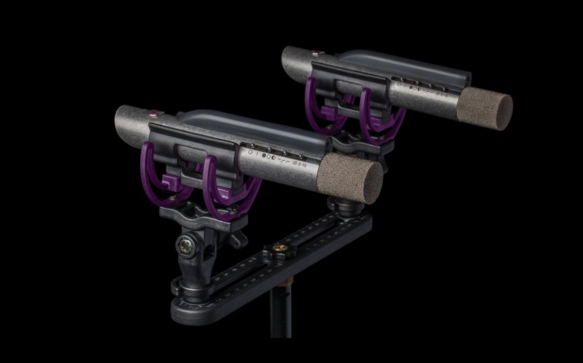 The Starlight laser-guided pencil mics from Aston Microphones